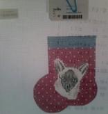 Canvas SIAMESE CAT MINI SOCK  AB389