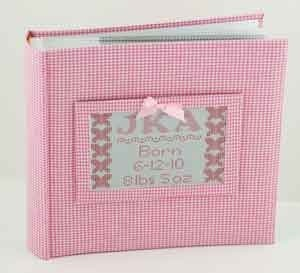 Canvas GINGHAM PHOTO ALBUM