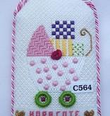 Canvas GIRLS PRAM  C564