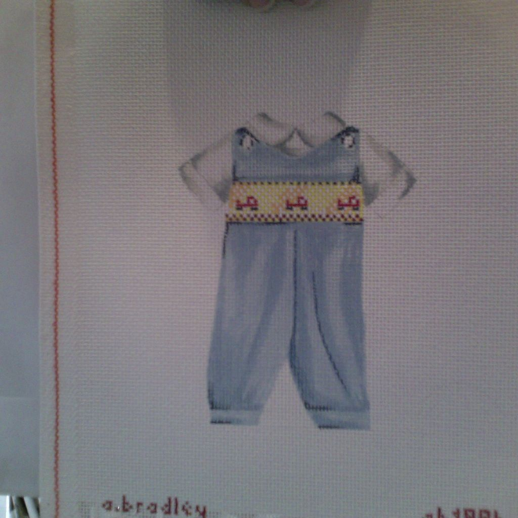 Canvas BOY SMOCKED SUIT  AB199B