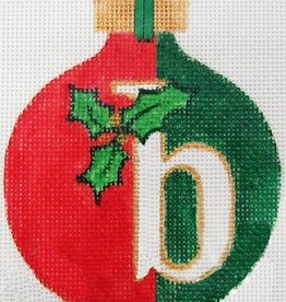 Canvas CHRISTMAS ALPHABET - ANY LETTER