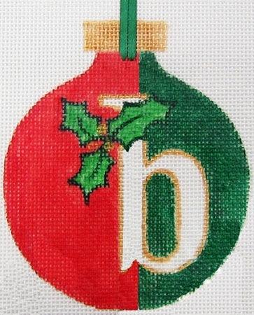 Canvas CHRISTMAS ALPHABET - ANY LETTER