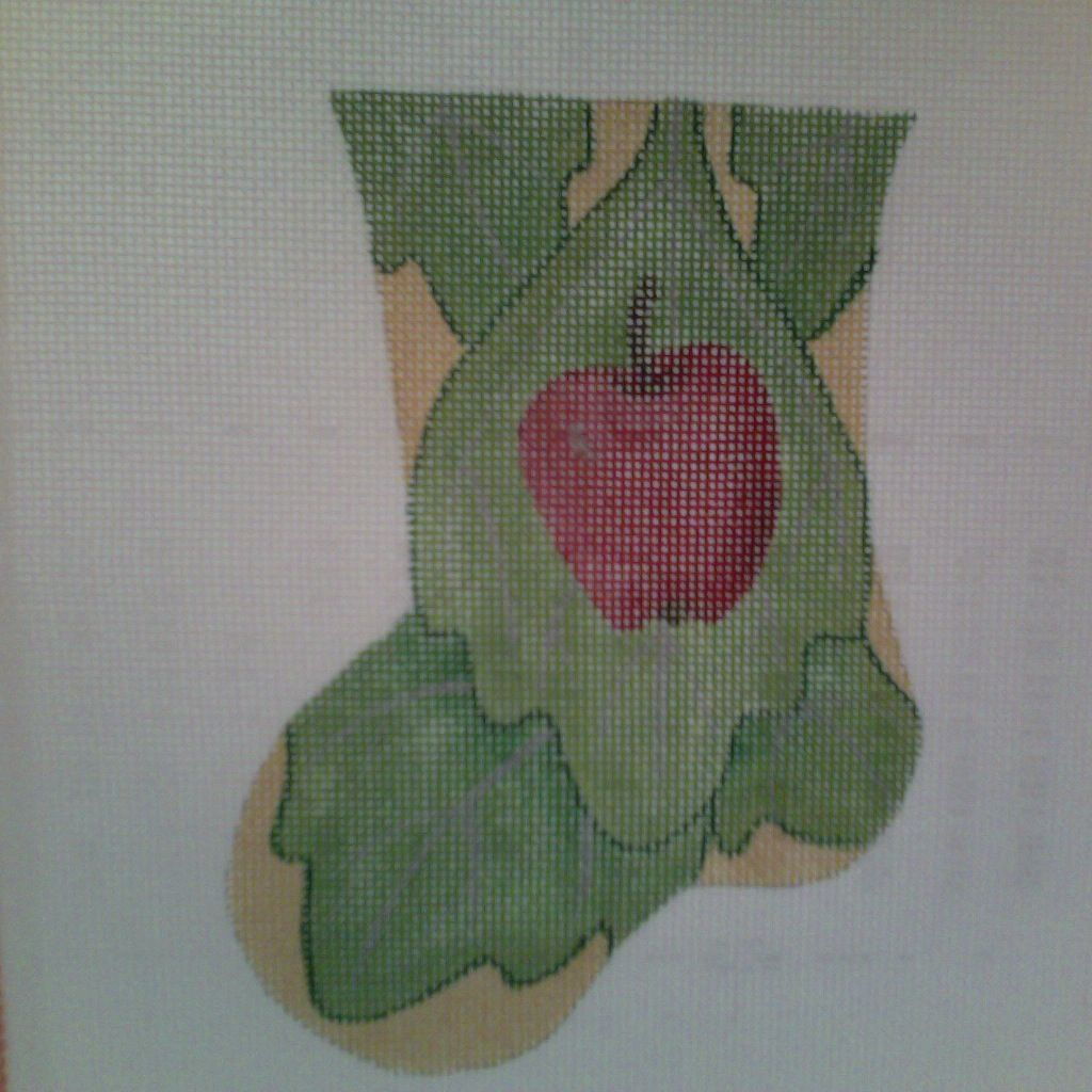 Canvas APPLE MINI SOCK  188540 - SALE<br /> REG 31.00