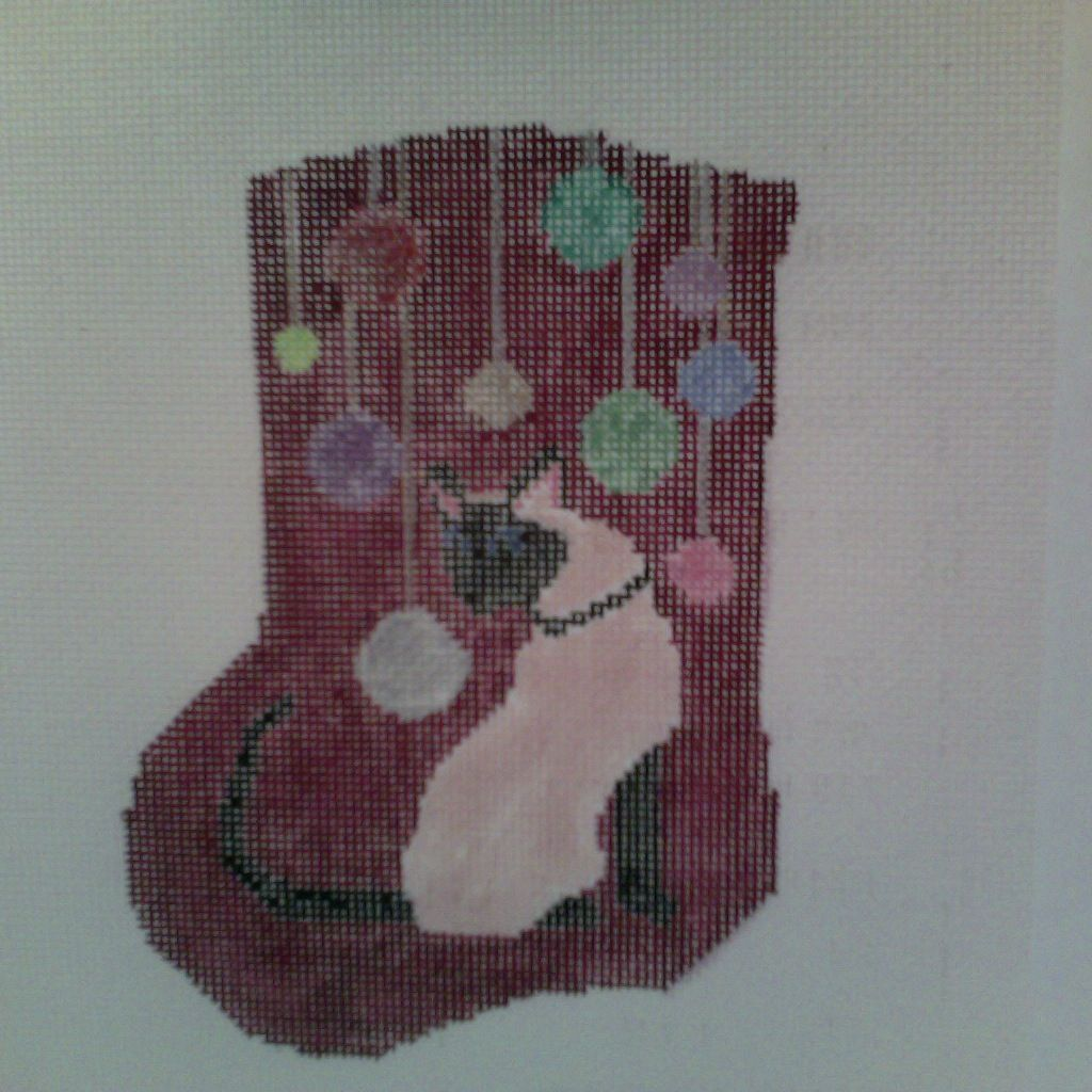 Canvas SIAMESE MINI SOCK  752