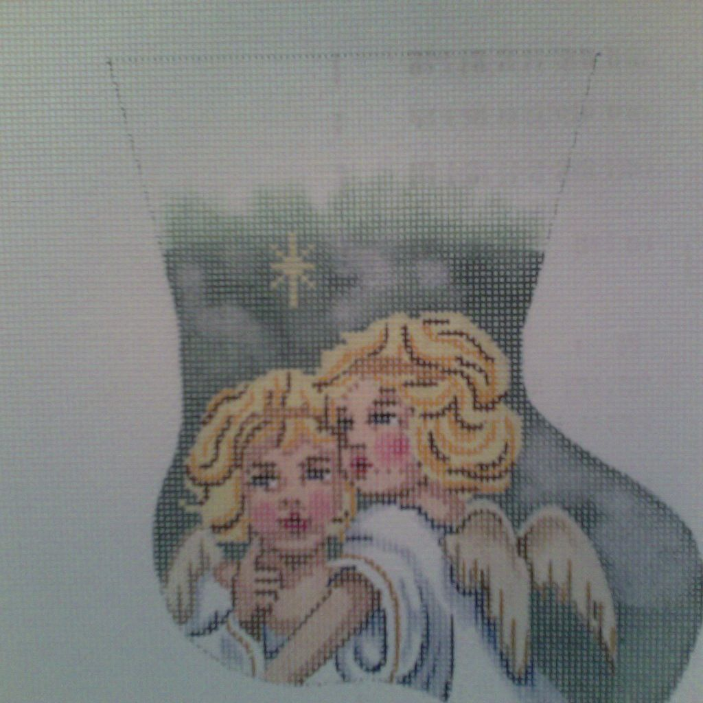 Canvas 2 ANGELS MINI SOCK GE584