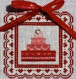Canvas SALE - VALENTINES CAKE 4V<br /> REG $41