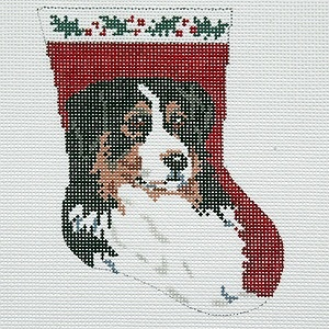Canvas BERNESE MT DOG BR93