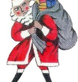 Canvas SALE  -  SANTA WITH BAG 2006<br /> REG $38