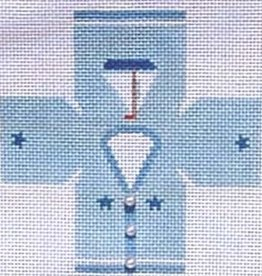 Canvas CHILDS BLUE SWEATER TOPPER  TO14