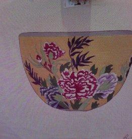 Canvas YELLOW FLORAL BOWL  7039 - SALE<br /> REG 95.00