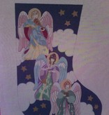 Canvas ANGELS STOCKING  CS56