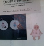 Canvas BABY ORNAMENT  NB-2