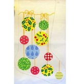 Canvas ORNAMENTS STOCKING  CS47