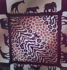 Canvas SAFARI ANIMAL PRINTS  P032 - SALE<br /> REG 22.00