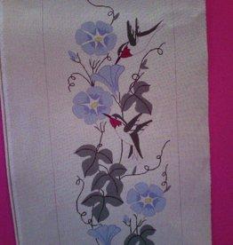 Canvas HUMMINGBIRD BELLPULL  409