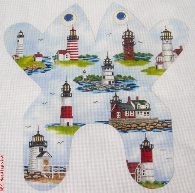 Canvas LIGHTHOUSE FROG  M155