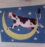 Canvas COW OVER MOON  LP148