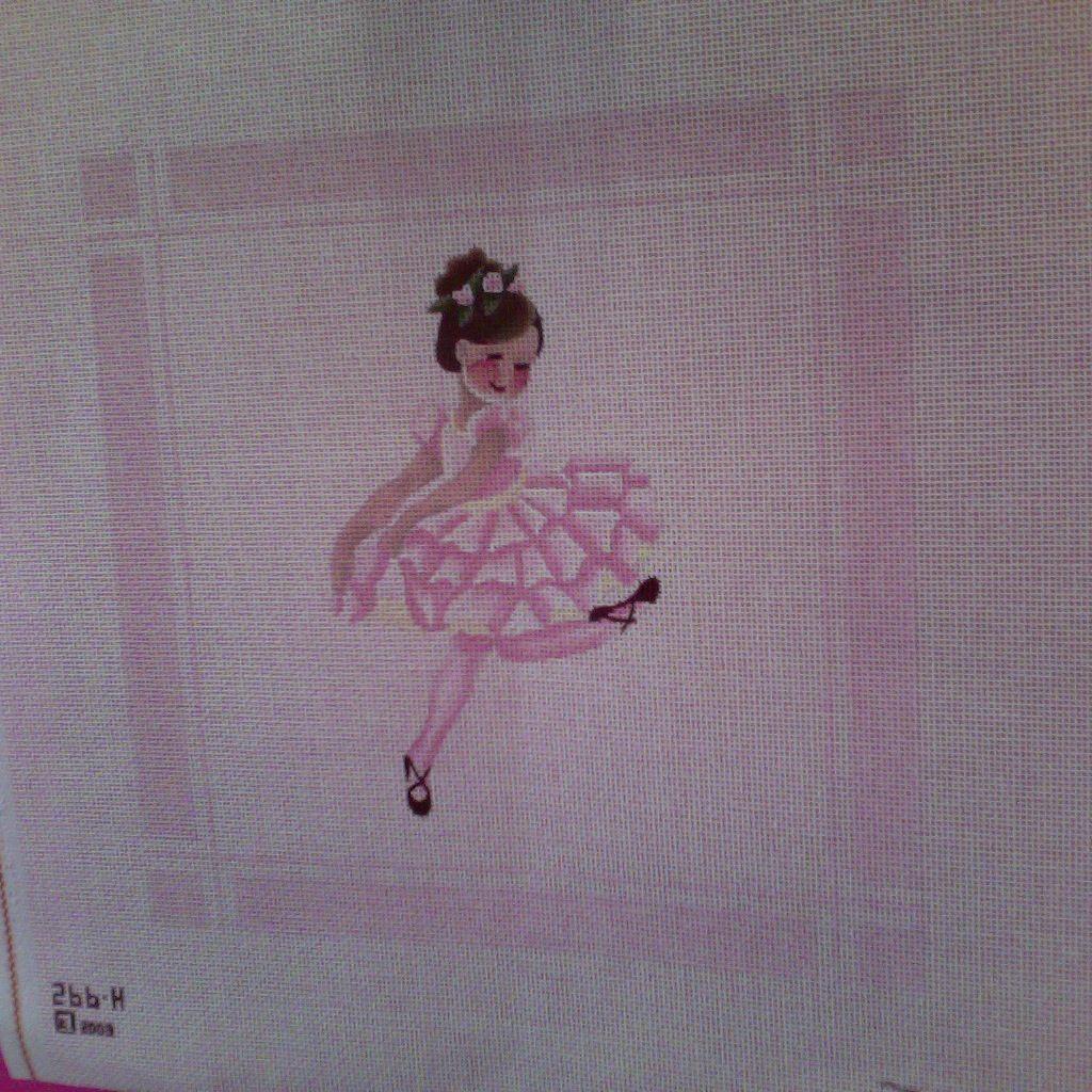 Canvas LITTLE DANCER  266H