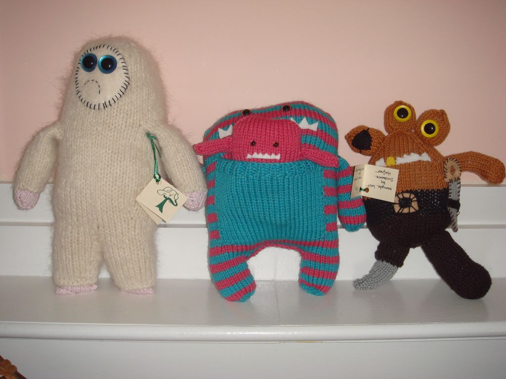 Yarn KNITTED TOYS