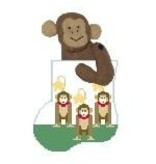 Canvas MONKEYS SOCK STUFFER  CM396