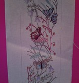 Canvas BUTTERFLIES BELLPULL BP8