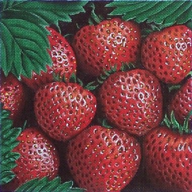 Canvas STRAWBERRIES  F116