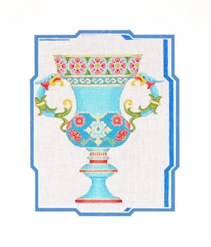 Canvas PERSIAN URN  UR08