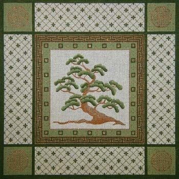 Canvas CYPRUS TREE  0186