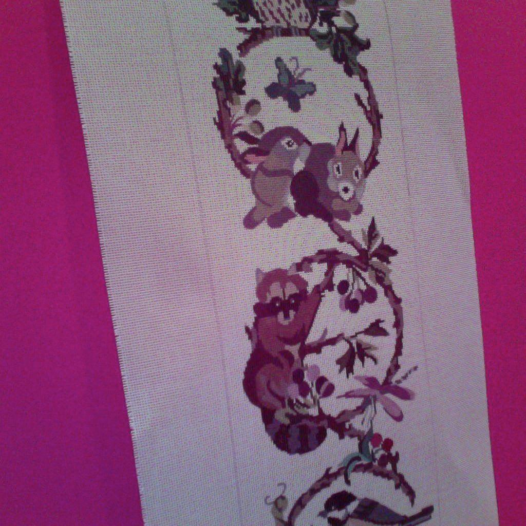 Canvas WOODLAND BELLPULL  BUPF125