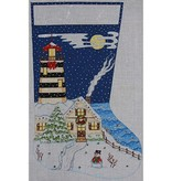 Canvas LIGHTHOUSE STOCKING 1836