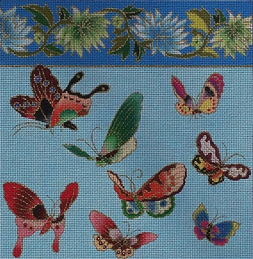 Canvas BUTTERFLIES  8X8  P001F