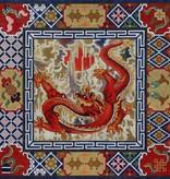 Canvas RED DRAGON  B118 - SALE<br /> REG 252.00