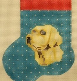 Canvas YELLOW LAB MINI SOCK  AB346