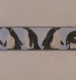 Canvas Penguins belt  901d<br />Rebecca Wood
