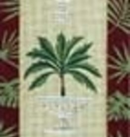 Canvas PALM TREE BELLPULL  V330