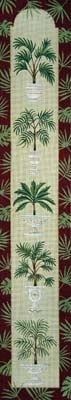 Canvas PALM TREE BELLPULL  V330<br /> <br /> SALE  REG $240