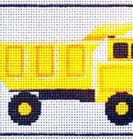 Canvas Tonka Truck  444c<br />Rebecca Wood