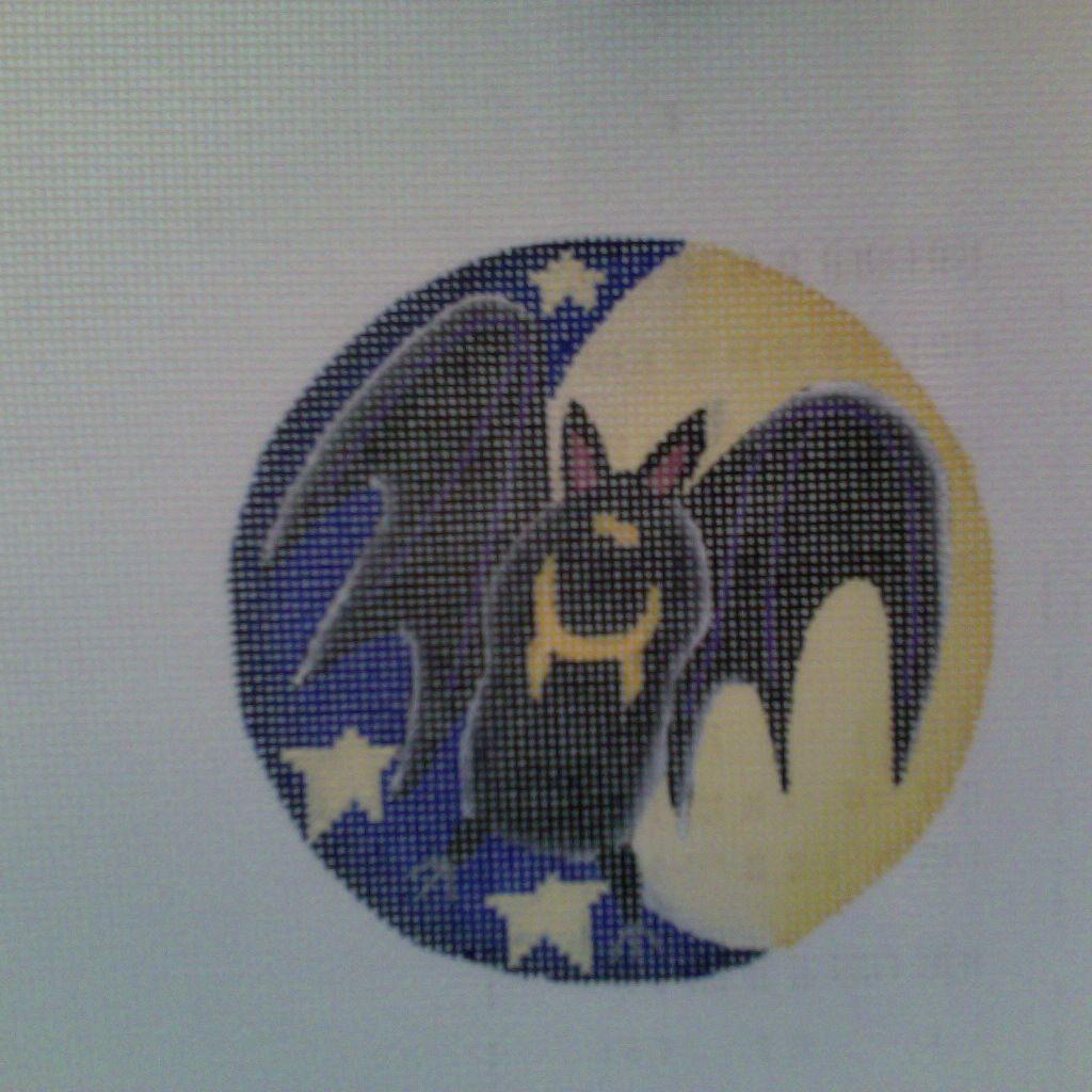 Canvas Crazy Bat  720b<br />Rebecca Wood