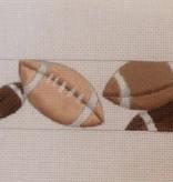 Canvas FOOTBALL BELT  B591