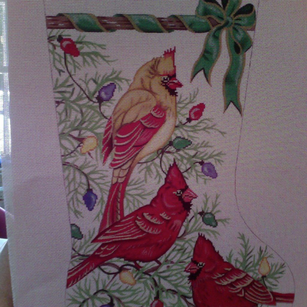Canvas CARDINAL STOCKING 1751