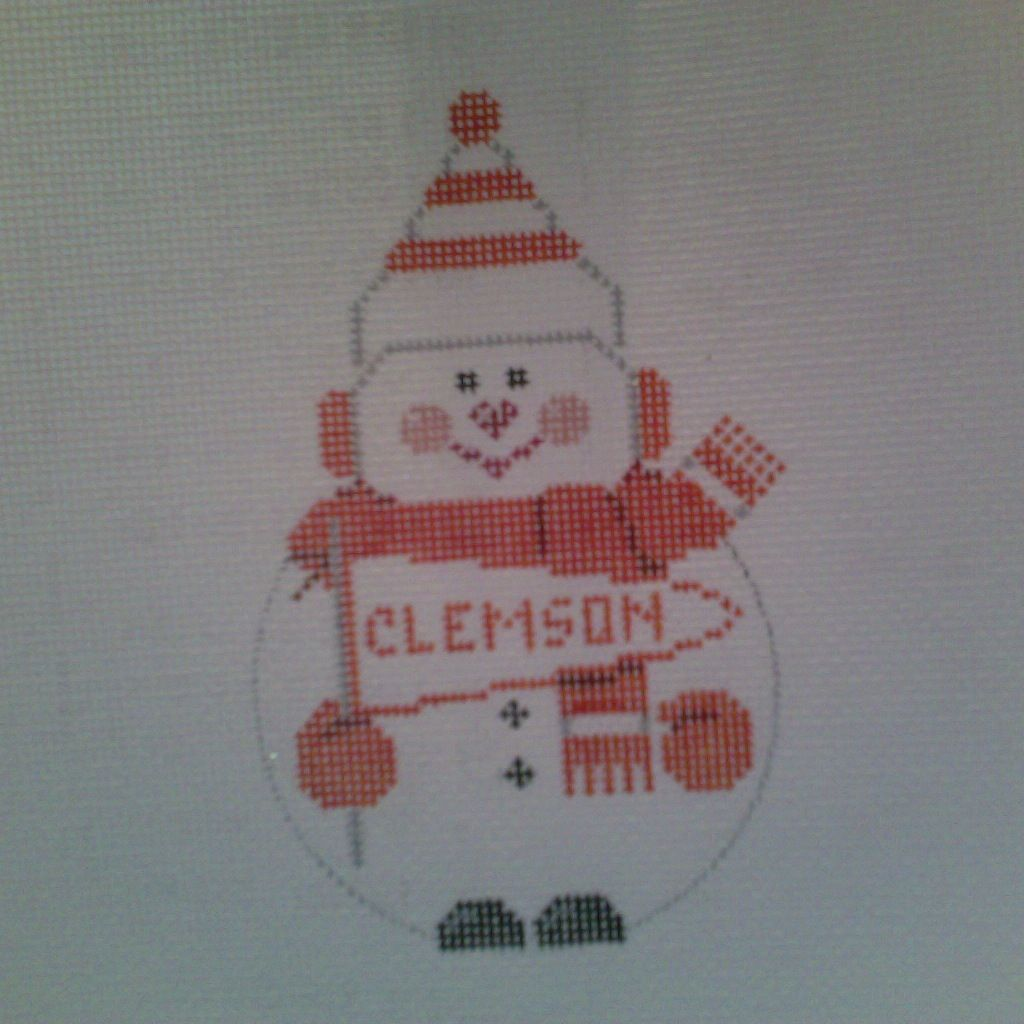 Canvas ANY SCHOOL SNOWMAN