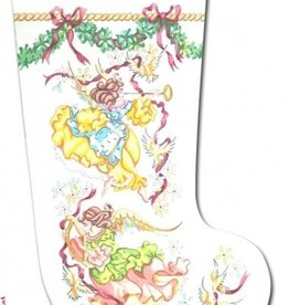 Canvas ANGELS STOCKING  CJ107