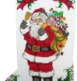 Canvas SANTA AND TOYS  JST101