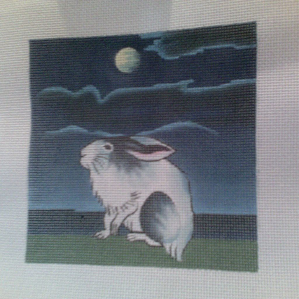 Canvas RABBIT 6X6  B171A