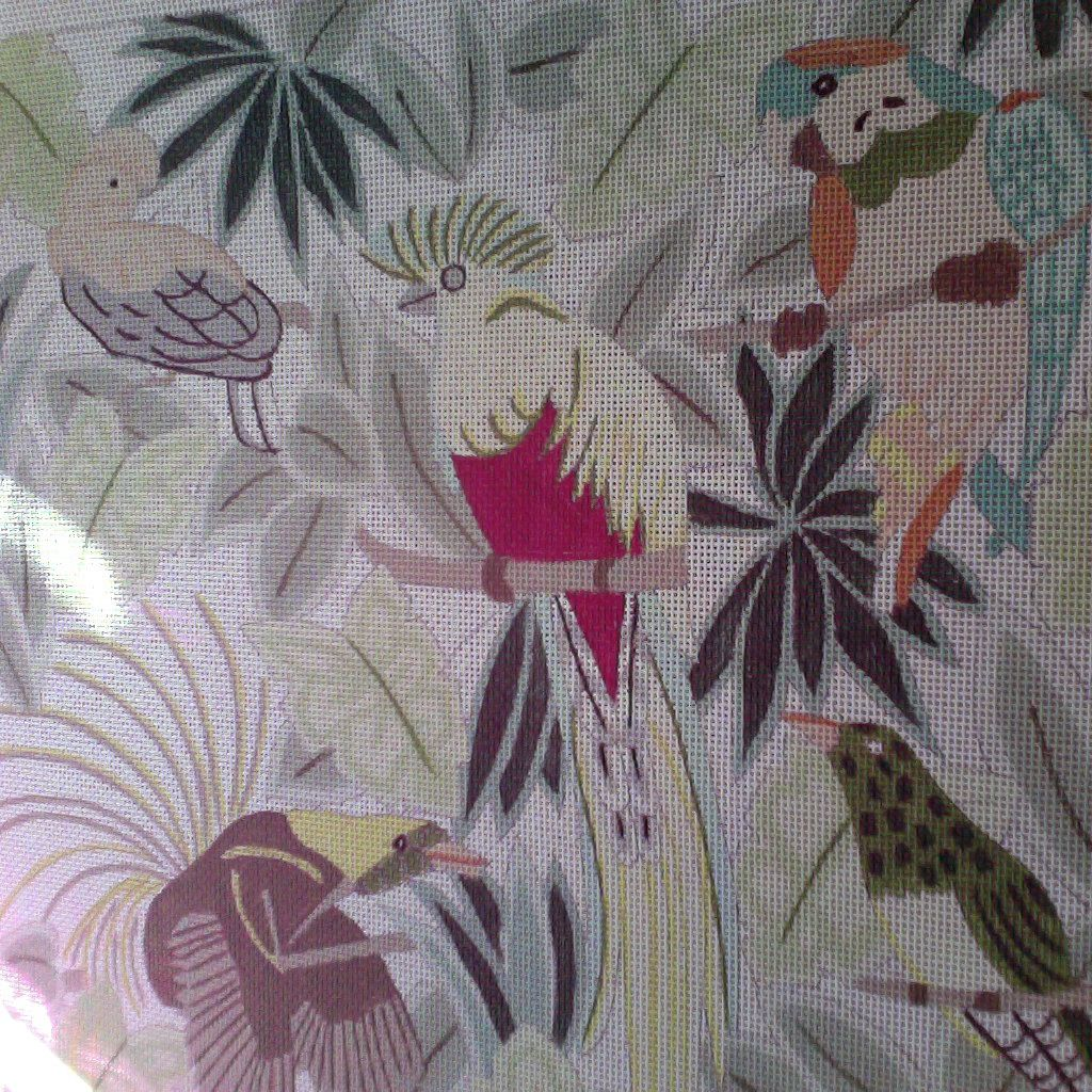 Canvas TROPICAL BIRDS  P108 - SALE<br /> REG 114.00