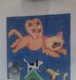 Canvas WONDER CAT  106A