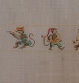 Canvas MONKEYS BELT  B30