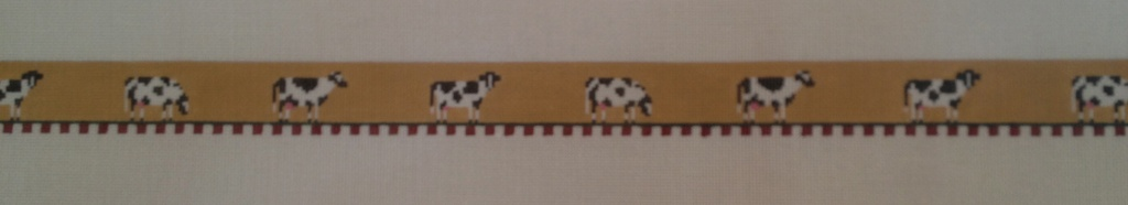 Canvas COWS BELT  B81