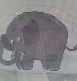 Canvas ADORABLE ELEPHANT F112