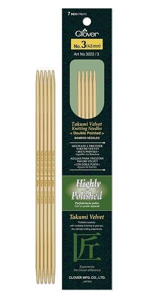 Needles dpn #15 clover velvet